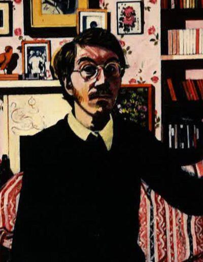 Self-portrait in black jumper